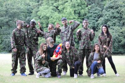 xuk army themed group activities