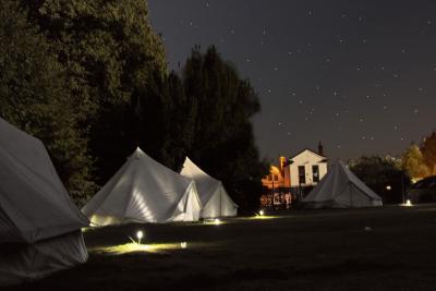 T-Bell tents at XUK Activity Camp