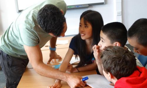 English lessons at XUK Summer Camp
