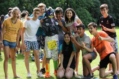 Group fun at XUK Summer residential Camp