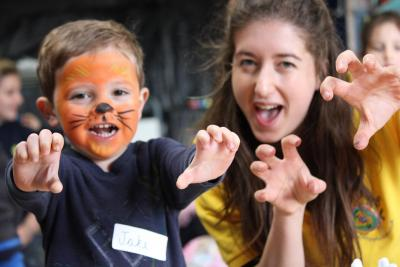 Face painting fun kids and staff xuk day camps based in london