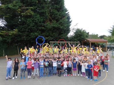 Olympics themed day at Mini Minors & XUK Day camp north london playscheme for kids