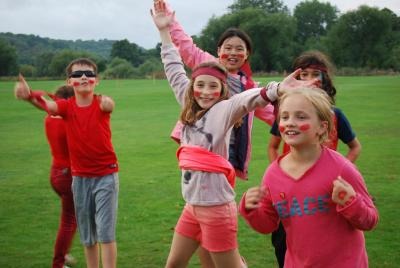 international campers at uk summer residential activity camp