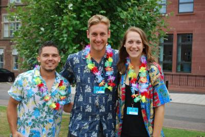 summer camp staff at uk residential activity camp for kids and teens