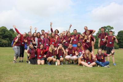 uk summer camp job team