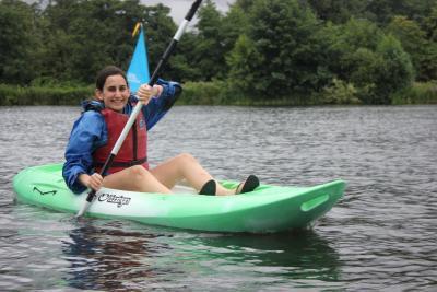 smiling summer camp teenager at british summer camp london