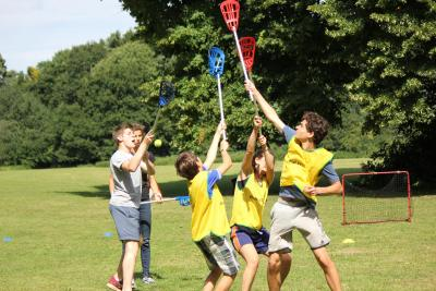 kids lacrosse best uk summer camp