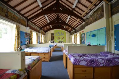 dormitories at residential uk english summer camp