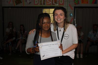 children winning awards at summer camp london