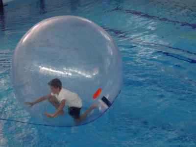 water zorbing uk summer camp activity london