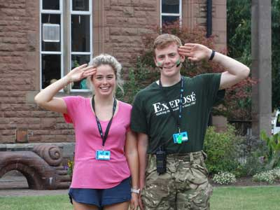 summer camp job uk staff
