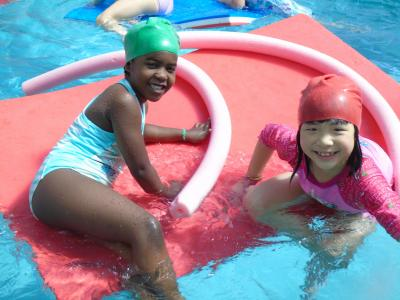 girls swimming north london summer day camp