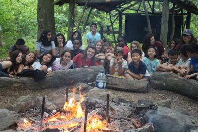 camp fire evening activity best camp for kids in england