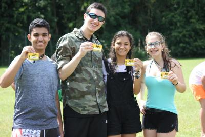 Leader in Training Programme leadership skills teenagers summer camp