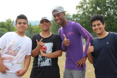teenage boys british summer activity camp london