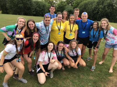 Colour War Team UK summer camp job for students