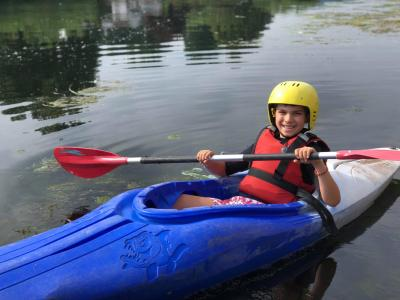 kayaking activity adventure best uk summer camp teenagers