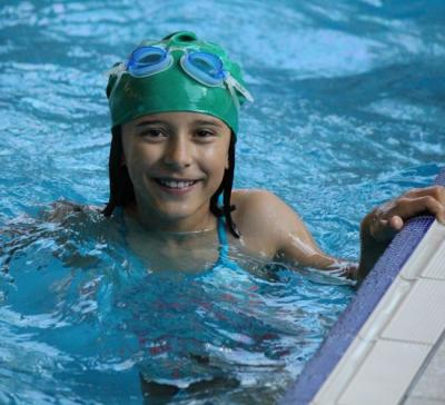 girl swimming english sleepaway camp uk