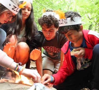 teenage campers fire building uk british international summer camp