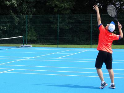 teenage boy tennis uk summer camp england