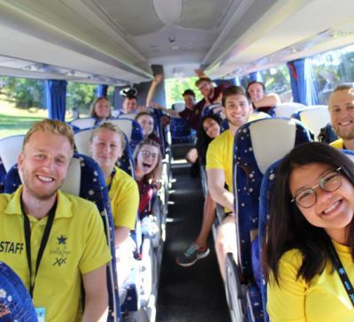 uk summer camp staff airport transfer