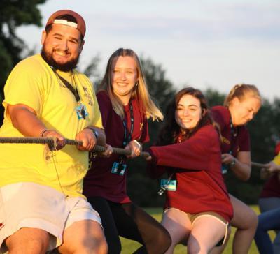 xuk camps summer staff team