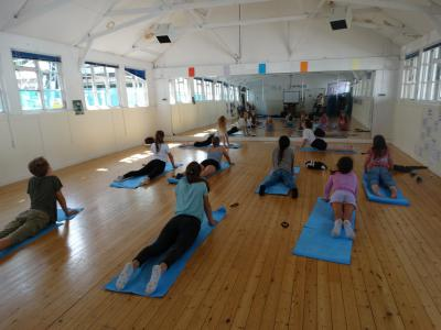 Yoga summer camp great britain