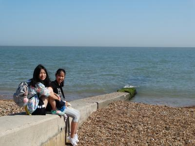Campers at XUK Excel at the seaside