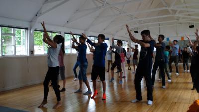 teenagers drama dance activity elective camp