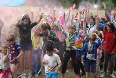 multi activity color war uk summer camp