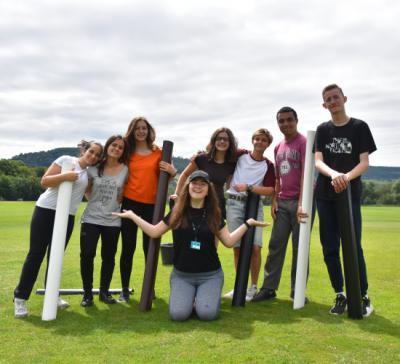 team building teenagers uk elective summer camp