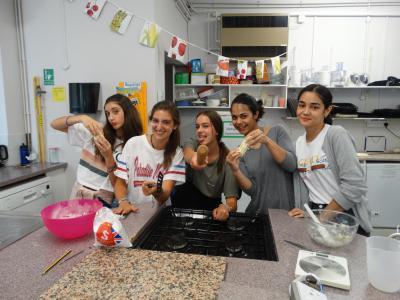cookery activity british summer camp uk